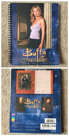 Buffy the Vampire Slayer - 2001-2002 Student Planner  #btvscollector #btvs #buffy #buffythevampireslayer