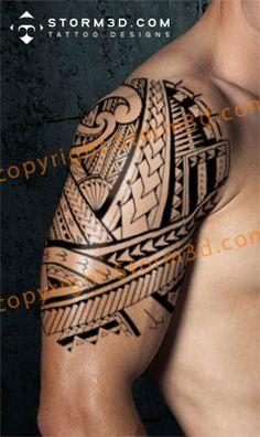 Google Image Result for http://www.storm3d.com/shoulder_tattoo_designs/digital%2520tattoo%2520maori%2520pictures/157%2520samoan%2520tribal%2520shoulder%2520sleeve%2520tattoo.jpg