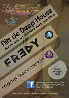ToNight Serrallo: Noches de Deep House 2013 (Tarragona)