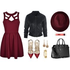 A fashion look from September 2014 featuring Valentino pumps, MICHAEL Michael Kors tote bags and GUESS by Marciano bracelets. Browse and shop related looks.