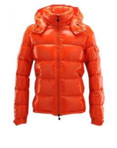 fe8b4129b577 Jacken Moncler maya herren der verschluss orange Moncler outlet Fashion