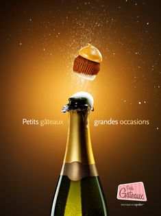 Original Ad Image: Small Cakes Big Occasions   Creative Ad Awards