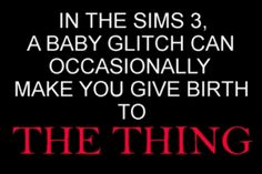 The 22 Most Horrifying Video Game Glitches #TheSims
