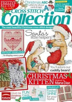 Cross Stitch Collection.  Christmas