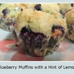 Easy Recipe: Delicious Blueberry Lemon Muffins  #CookwithSpreads