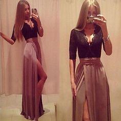 chic maxi dress