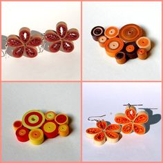 My quilling jewellery in autumn colours :)  https://www.facebook.com/ludkasfavouritewasteoftime