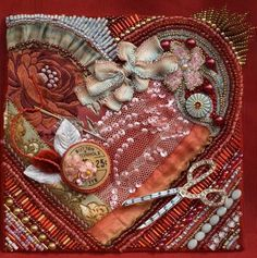 Susan Elliott, Bead Journal project