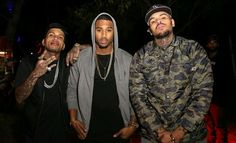 Kid Ink, Trey Songz & Chris Brown Like this pic? See more on my Pinterest…