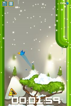 Bird's Up in the snow, be ready to be fast and precise to finish that level! Get the game @ https://play.google.com/store/apps/details?id=com.issgamestudio.birdsup