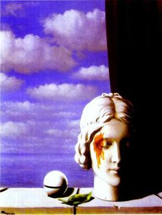 margrite painter   Memory. -René Magritte Painting