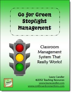 $ Go for Green is a behavior management system that works like a charm for managing active classrooms. No more lecturing or raising your voice to calm the chaos. Just use your stoplight! Preview the entire packet online from this page.