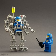 Friday Night Fights – Exo Suits #lego #mech #exosuits