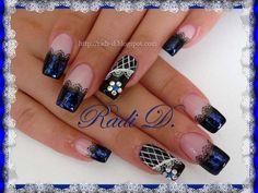 Beautiful french by RadiD - Nail Art Gallery nailartgallery.nailsmag.com by Nails Magazine www.nailsmag.com #nailart