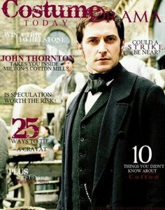 Magazine: costume drama today starring John Thornton :)