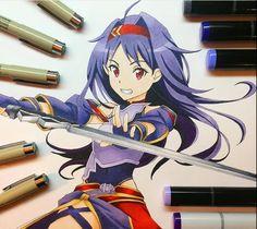 Yuuki Konno from Sword Art Online 2
