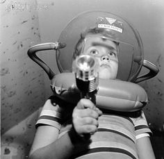 ATTIC OF ASTOUNDING ARTIFACTS: Vintage Photos Of Vintage Space Toys