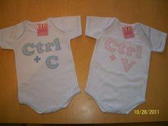 Body Bebê Personalizado - Gêmeos
