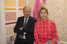 Visita a nuestro stand de la prestigiosa diseñadora Agatha Ruiz de la Prada - A visit to our stand from the prestigious designer Agatha Ruiz de la Prada #Pamesa #Agatha #AgathaRuizdelaPrada #Cersaie 2014