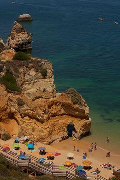Praia do Camilo, Algarve | Portugal (by Natalia Romay)