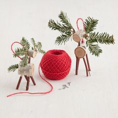 30 DIY Rustic Christmas Ornaments. If you need some inspiration I have gathered some top easy, creative and rustic DIY Christmas ornaments ideas.  Have fun!