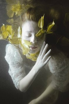 "Two Absolutely Sensational Series ""Heaven Laid in Tears"" and ""Revival"" by Mira Nedyalkova — The Artbo Underwater Photography, Portrait Photography, Underwater Pictures, Drawing Reference, Pose Reference, Fantasy Art, Illustration, Portraits, Photos"