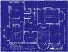 https://flic.kr/p/bh8ZGD | 1120 Westchester Pl - 1st Floor Plan | Special thanks to hookedonhouses.net/2011/10/31/the-real-american-horror-st...