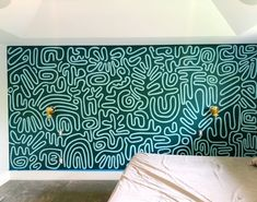 Fox Homes — Ashley Mary Mural Wall Art, Mural Painting, Paintings, Wall Design, House Design, Deco Cool, Fox Home, Hand Painted Walls, Hand Painted Wallpaper