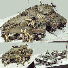 On the Offensive diorama. Modeler Kazuya Yoshioka #scalemodel #plastimodelismo #miniatura #miniature #maqueta #maquette #modelismo #modelism #modelisme #plasticmodel #plastimodelo #usinadoskits #udk #diorama #hobby #war #guerra #guerre #bataille
