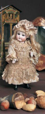 German All-Bisque Doll, Model 111, by KestnerSigned 111. Kestner, circa 1885. 8 (20 cm).