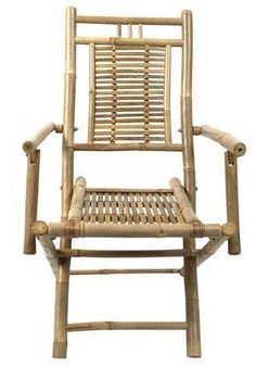 Bambus Stuhl Rivas (60x49x97 Cm)