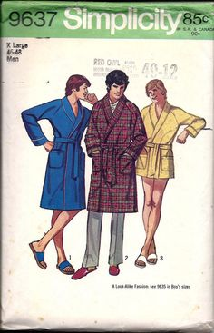 Mens Horizontal Bold Stripe Coral Fleece Collared Dressing Gown//Bath Robe