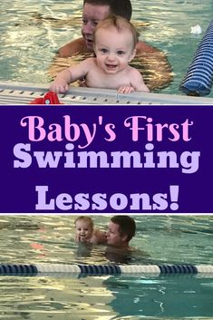 Your baby's first swimming lessons will be a fun and exciting way to teach your little one how to be safe in the water! Baby Swimming Lessons, Swim Lessons, Newborn Baby Tips, Newborn Care, Teach Baby To Swim, Baby Needs List, Baby Schedule, Baby Pool, Breastfeeding And Pumping