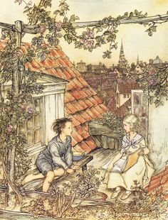 Fairy Tales by Hans Andersen by Arthur RACKHAM, - Jonkers Rare Books