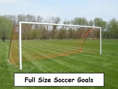Full size soccer goals are the official goals at soccer and are essential for playing games and for training in clubs or individual. More about them at http://justgoalsportal.com/full-size-soccer-goals-best-ones/