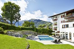 Wellness Spa, Mansions, House Styles, Decor, Kaprun, Alps, Summer, House, Mansion Houses
