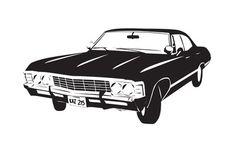 The Impala 67' Art Print