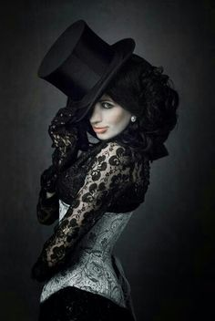 Inspiration: League of Indistinguishable Ladies In Top Hats (L.I.L.I.T.H.) a sort of burlesque type group featured in my book... that are known for their top hats