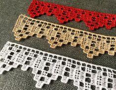 Crochet Table Runner Pattern, Crochet Edging Patterns, Crochet Lace Edging, Crochet Borders, Crochet Art, Doily Patterns, Filet Crochet, Crochet Towel Topper, Free Machine Embroidery Designs