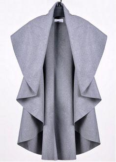 Pretty Turndown Collar Sleeveless Trench Coat with cheap wholesale price, buy Pretty Turndown Collar Sleeveless Trench Coat at rotita.com !