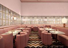 Londres // hôtel Sketch - décor India Mahdavi - dessins David Shrigley