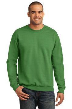 Buy the Anvil Crewneck Sweatshirt Style 71000 from SweatShirtStation.com, on sale now for $13.68 #crewneck #sweatshirt #giftfordad Green Apple