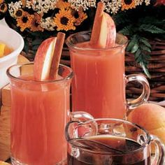 Rosy Citrus drink ~ This is an awesome alternative to coffee or tea at brunches.
