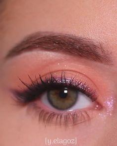 Eye Makeup Steps, Eye Makeup Art, Eyebrow Makeup, Skin Makeup, Eyeshadow Makeup, Makeup Tips, Beauty Makeup, Daytime Eye Makeup, Makeup Tutorial Eyeliner