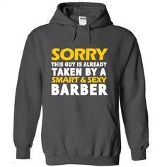 Taken by a Barber T Shirt, Hoodie, Sweatshirts - shirt design #style #T-Shirts