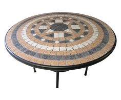 Table ronde KYRA, noir - Ø100 | Westwing Home & Living