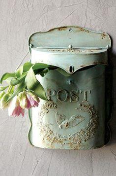 Minty Post Box