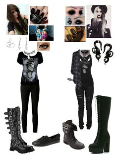 """Style now vs. Style I want"" by cas1704 ❤ liked on Polyvore"