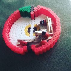 Apple bowl perler beads by revic13