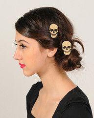 Little Skull Glam Rock by Punk Poney